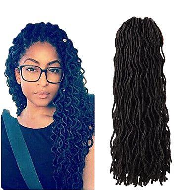 Crochet+dreadlocks+Extensions+de+cheveux+Kanekalon+Cheveux+Tressée+–+CHF+₣+8.97
