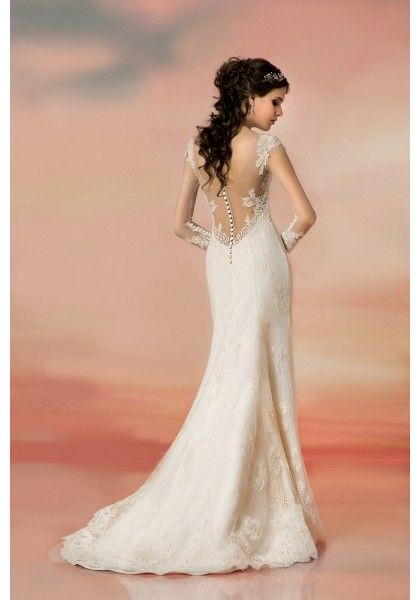 1000 images about wedding dresses on pinterest maggie for Trumpet mermaid wedding dress with sleeves