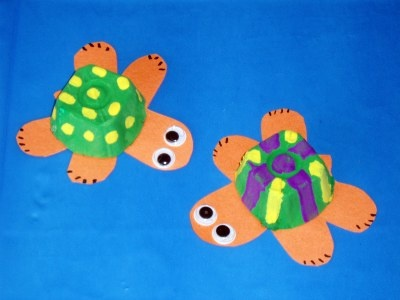 160 best images about egg carton crafts on pinterest for Turtle arts and crafts