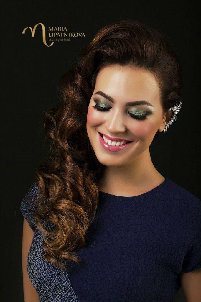 #Прическа #Макияж - свадебный стилист #Мария Липатникова. Записаться на #создание вечернего, свадебного или любого другого образа можно по номеру 89138913128