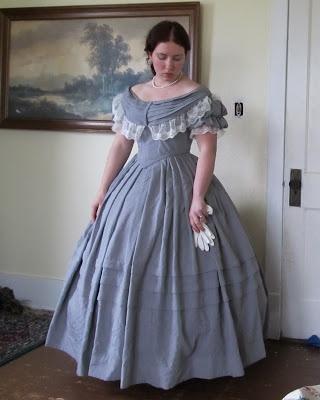 I adore her bollgown! Romantic History: Civil War Reenacting