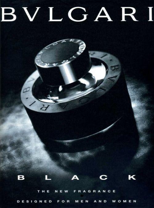 Black by Bvlgari, print ad