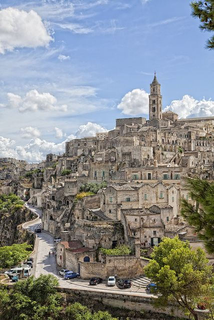 mostlyitaly: Quartiere Sassi - Matera (Basilicata, Italy) by albygent Alberto Gentile on Flickr.
