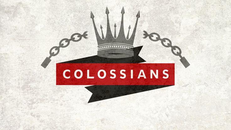 Colossians sermon series.