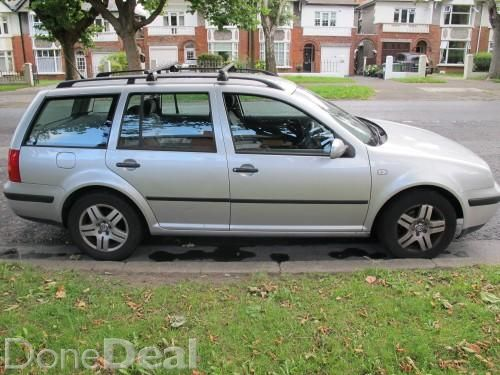 VW GOLF ESTATE 2004