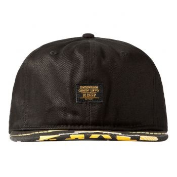 10Deep Local Native 6 Panel Cap - Black Label: 10Deep  Format: Cap  £25.00 (£30.00 inc VAT)  Available from www.catapult.co.uk