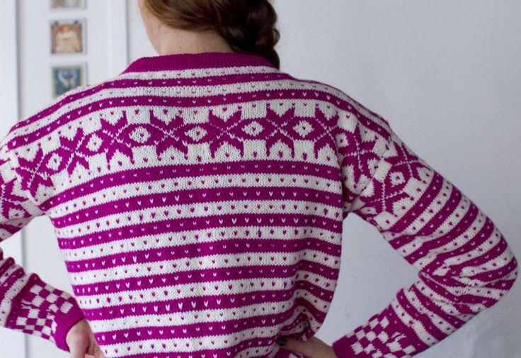 Sykt fin genser!! Fana mønster?