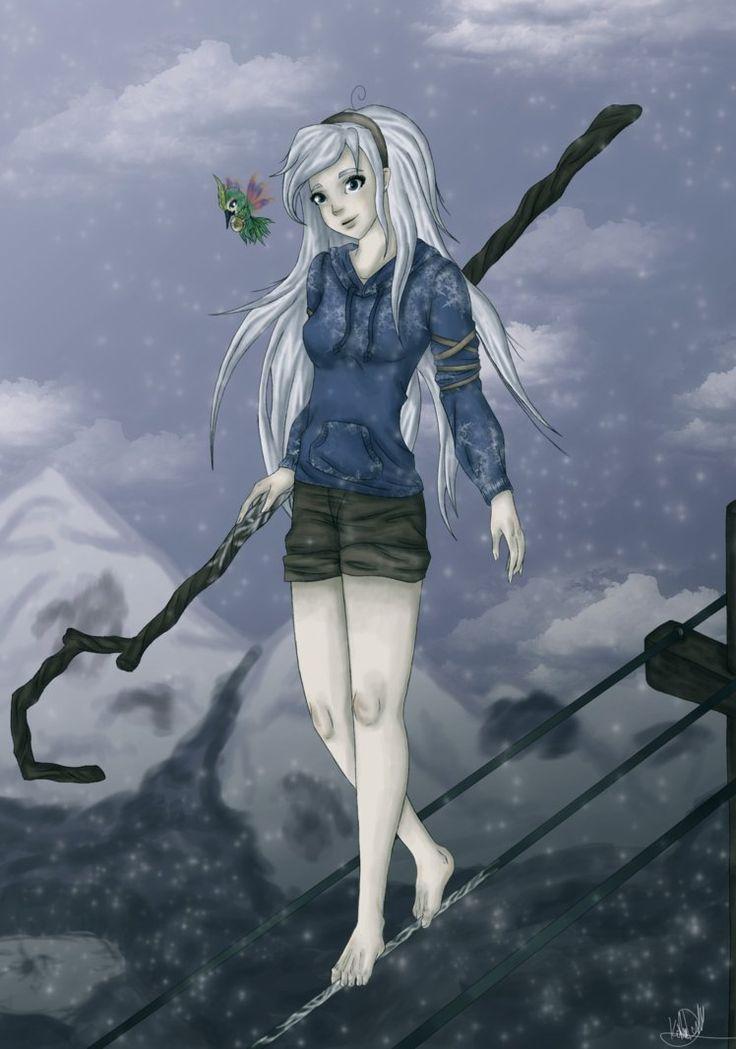 Female Jack Frost   deviantART: More Like ROTG:Girl Jack Frost by *AoikitsuneBAKA