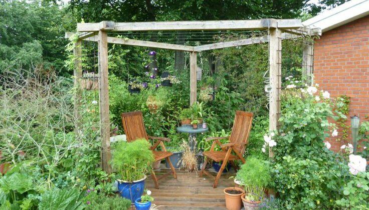 Spændende have i flere niveauer | Haveselskabet