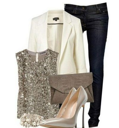 Cute Christmas Outfit Ideas -Festive Sparkle - Click Pic for 22 Womens Winter Fashion Trends
