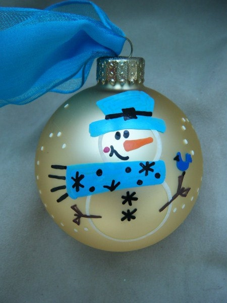How To Make Personalized Christmas Ball Ornaments