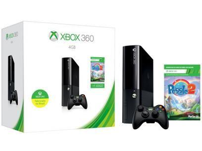 Xbox 360 4GB 1 Controle 1 Jogo - Microsoft com as melhores condições você encontra no Magazine Tonyroma. Confira!