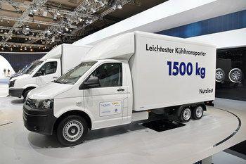 Сверхлегкий рефрижераторный фургон на базе трехосного шасси Volkswagen Transporter T5 удостоен высокой награды в области логистики - Zukunftspreis Logistik 2014.