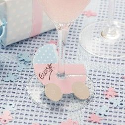 Tiny feet Wine Glass Marker (10)