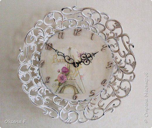 Декор предметов Декупаж Часы Французский шебби и купюрница Простите что мешаю вам деньги прятать   Салфетки фото 1
