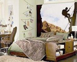 habitación bien decorada