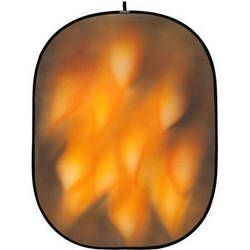 Botero 064 Collapsible Background (5 x 7', Brown, Fire)
