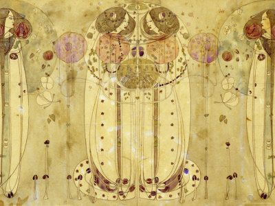 Charles Rennie Mackintosh -- we love anything and everything he and his wife, Margaret MacDonald, ever created.