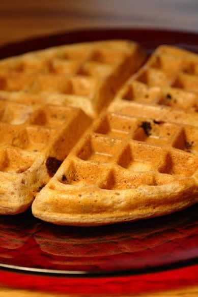 Buttermilk Buckwheat, Teff Waffles. Just made these and ...