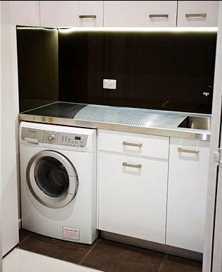 The Block - Rod and Tania's european laundry
