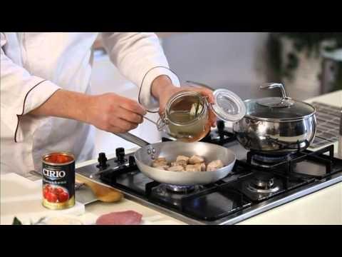 Salmì di vitello con pomodorini e riso al rosmarino - #Cirio http://www.cirio.it/pdf/ricetta-cirio-vitello.pdf