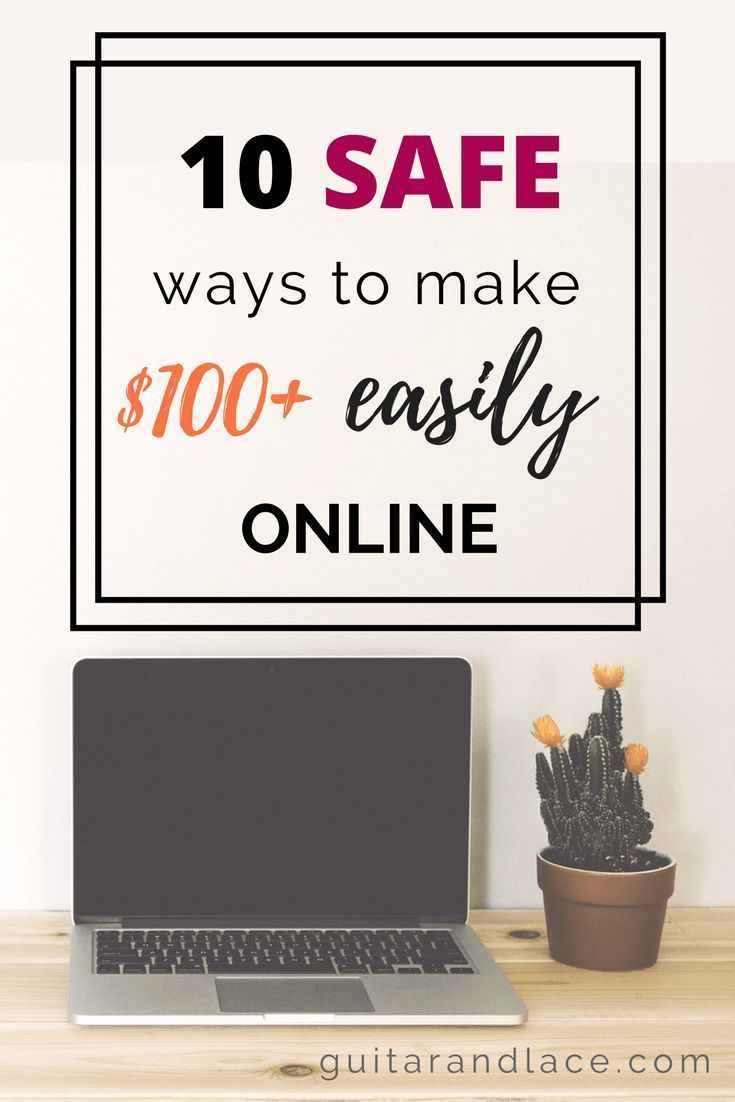 Make easy money online! I have had success earning extra income with these 10 safe platforms. You can easily make over $100. Work from home | passive income | side hustle | make extra money online |