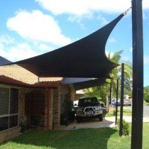 tettoie per auto Tenda da sole a vela, Vele ombreggianti