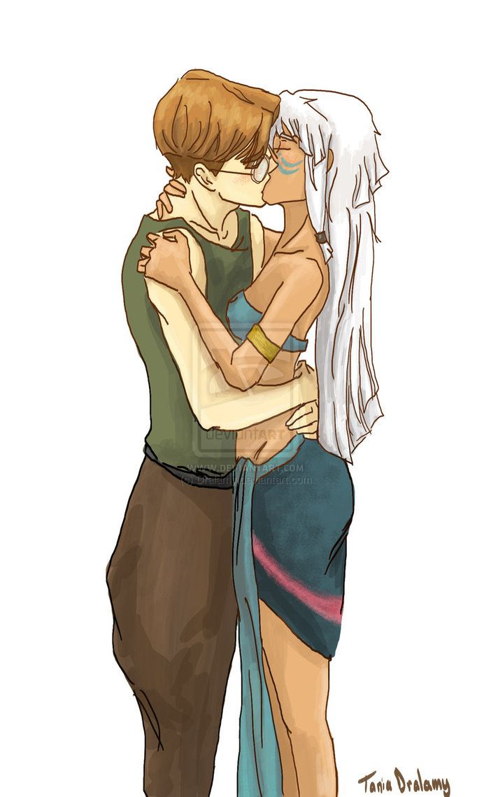 Milo and Kida<< these guys were my 1st ship!