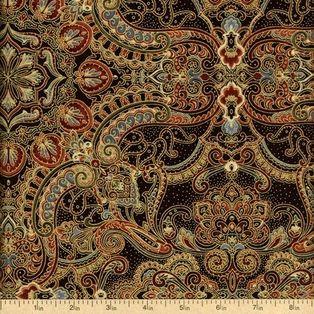 Timeless Treasures - Pashmina CM9637-Brown