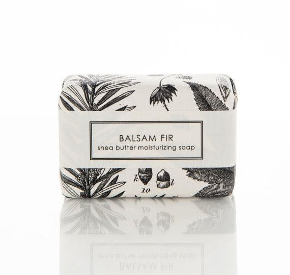 Holiday Shea Butter Soap Balsam Fir The BIG Bar by sweetpetula