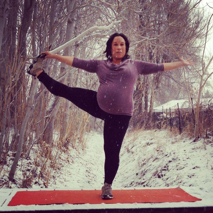 Yoga Pose 20 Day Challenge #YogaADay - Fitspiration For Moms