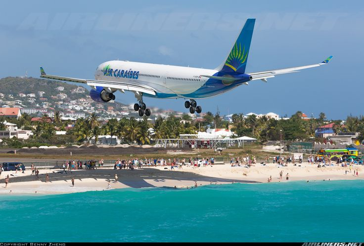 Turquoise waters, white sand beaches, tropical weather, and of course, big jets meters above your head! St. Maarten is AvGeek's paradise on earth.