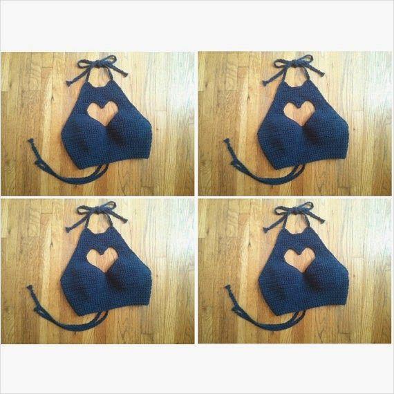 Tops em crochê - Crochet Crop top crochet Inspiração - Katia Ribeiro Moda e Decoração Handmade