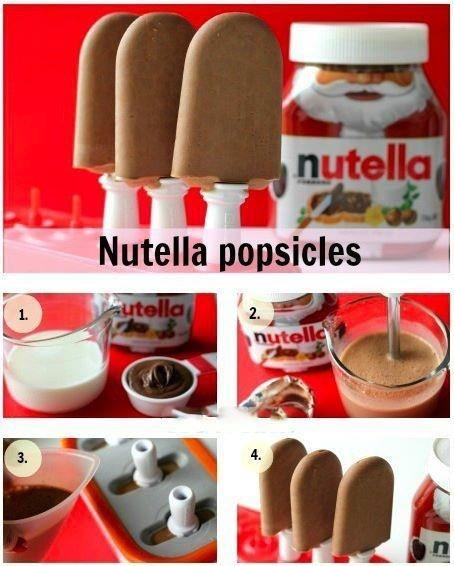 Como hacer helado de nutella. Hazlo tu mismo!