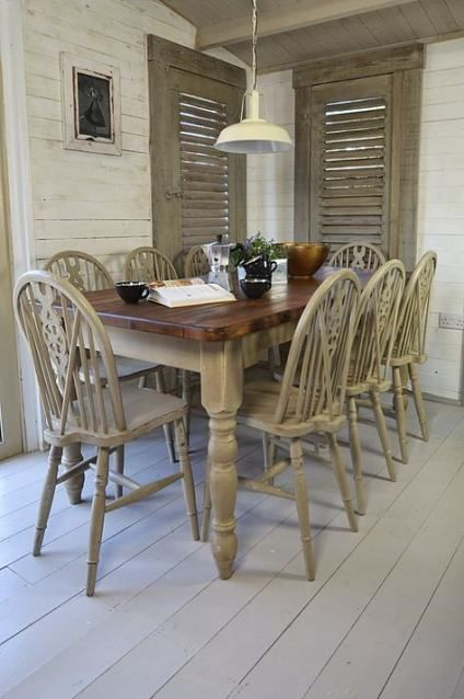 42 trendy farmhouse table dark stain wall colors # ...
