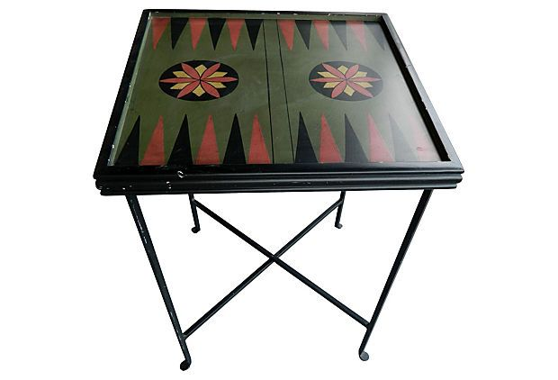 One Kings Lane - All Together Now - Midcentury  Game Table