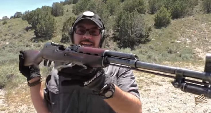 This seriously beat up Type 56 SKS rifle is in pretty rough shape. Check out this video to see if it still shoots straight.