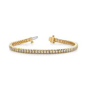 3.00 Karat Diamant Armband aus 585er Gelbgold
