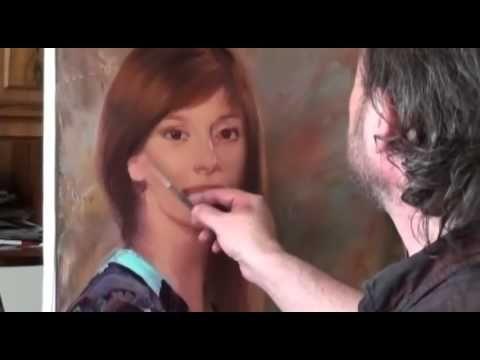 All Full Video Tutorials Igor Sakharov! Portrait oil