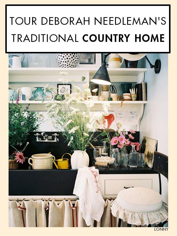 Deborah Needleman S Traditional Country Home Home Celebrity