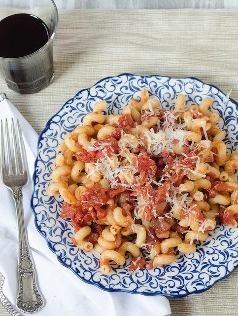 Pasta all'Amatriciana by Pink Parsley Blog, via Flickr