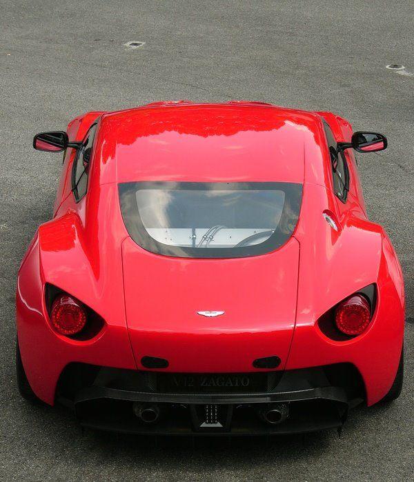 Zagato version of the Aston Martin V-12 Vantage