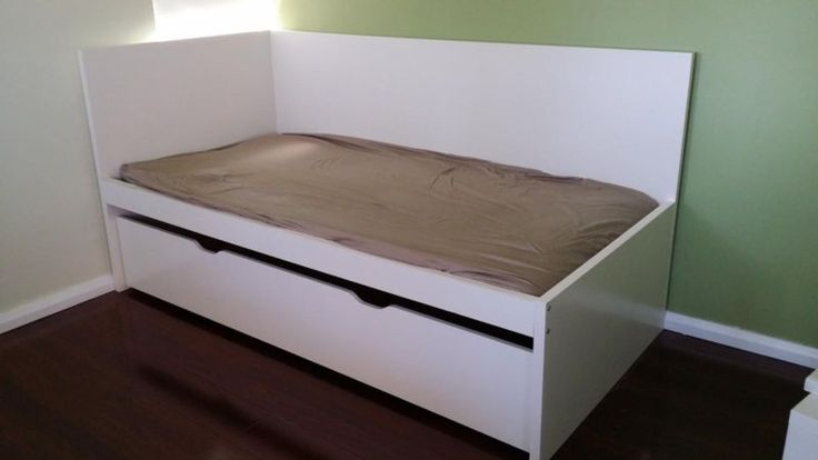 Ikea Flaxa Bed With Trundle ~ Beds, Ikea and Headboards on Pinterest