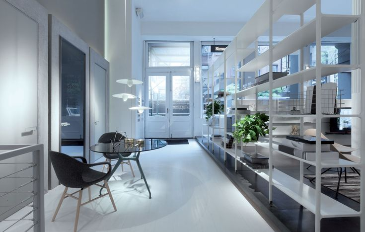 """The Rimadesio flagship store in New York opens with the feel of """"when artists lived and worked in lofts""""  #ArchiJuice #RetailDesign"""