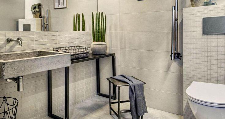 Risultati immagini per piastrelle bagno gres porcellanato effetto pietra bagno bagno - Piastrelle pietra bagno ...