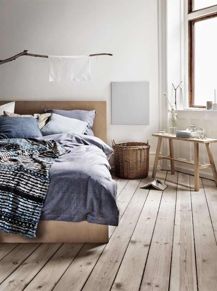 Grey and wood