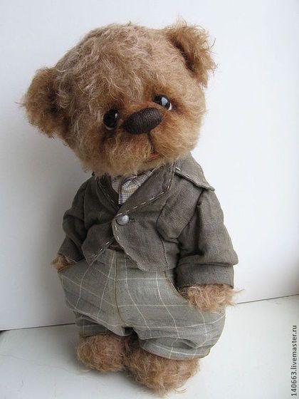 Мишки Тедди ручной работы. Ярмарка Мастеров - ручная работа Чарли. Handmade.