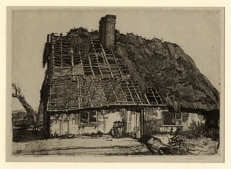 Etching, 1924 by Graham Sutherland