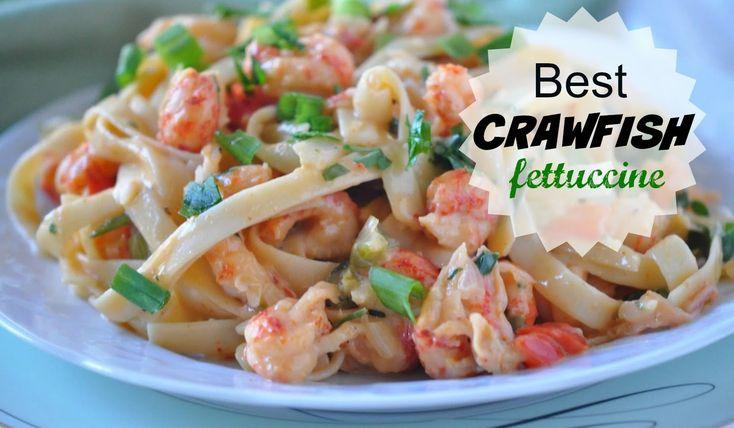 Best Louisiana Crawfish Fettuccine Recipe - Cajun Cooking