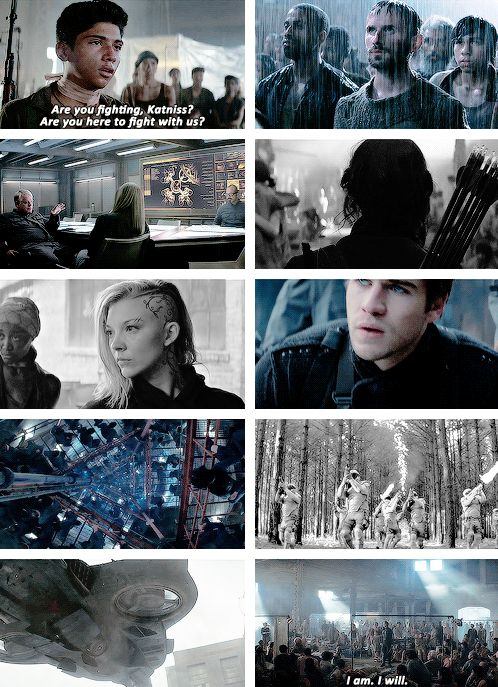 The Hunger Games - Mockingjay Part 1 - Teaser trailer - Are you fighting, Katniss? Are you here to fight with us? - I am. I will.